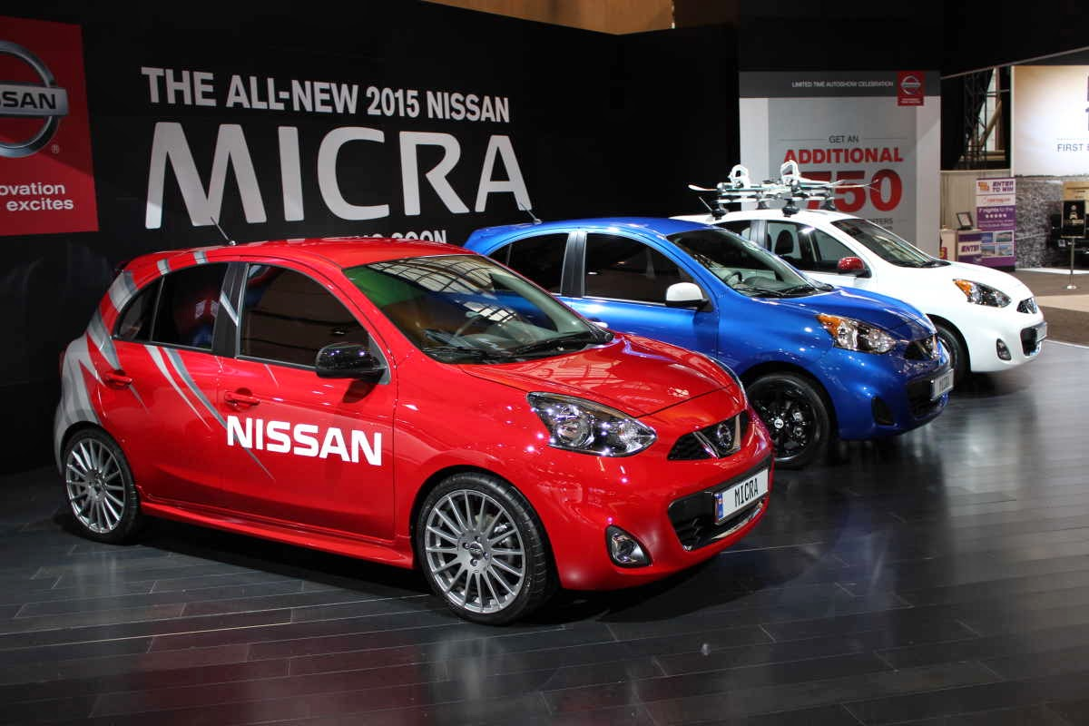 the 2015 nissan micra  cheapest new car in canada